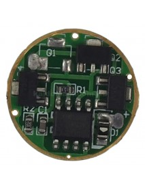 Li-ion 1.2A 7135 LED Regulated circuit (19 modes 3 group)
