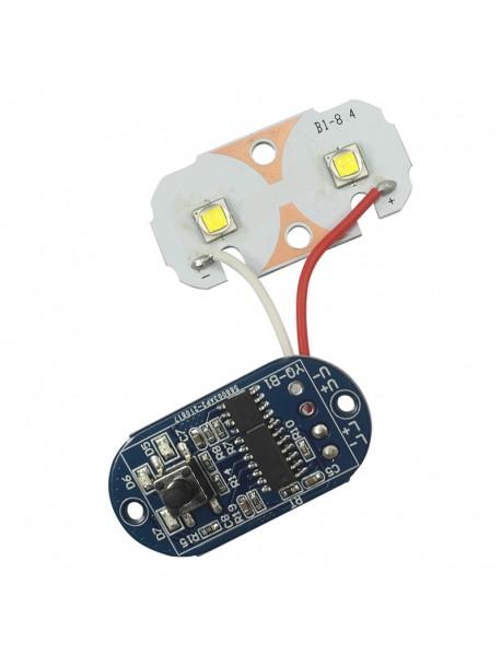 Cree XM-L2 LED Driver Board Set for BL2 Bike Light