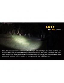 Fenix LD11 Cree XP-G2 R5 300 Lumens 4-Mode LED Flashlight ( 1*14500 / 1*AA )