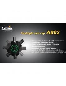 Fenix Flashlight Belt Clip AB02