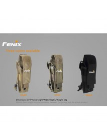 Fenix ALP-MT Holster for TK09 / TK15 / TK15C / SD10 / PD32 / PD35 / LD11 / LD22 , etc