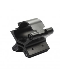 GM005 Aluminum Alloy Scope Barrel Mount 26.5mm - Black (1 pc)