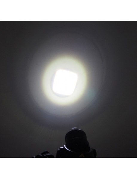 Cree XM-L U2 White 6500K 1000 Lumens 3-Mode Zoomable LED Headlamp ( 2x18650 )