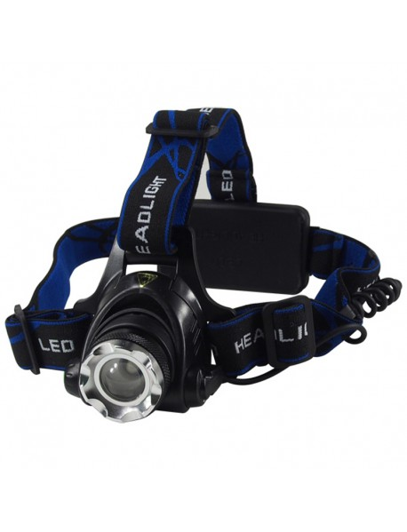 Cree XM-L U2 White 6500K 1000 Lumens 3-Mode Zoomable LED Headlamp ( 2x18650 )
