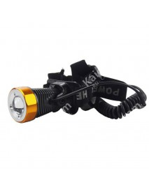 TrustFire TR-H1 Cree XM-L T6 5-Mode 400 Lumens Zoom Headlamp with Battery Pack and Charger