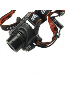 Cree XP-G R5 3-Mode 400 Lumens Zoom Headlamp (4 x AA)