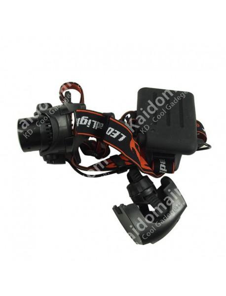 Cree XP-G R5 3-Mode 400 Lumens Zoom Headlamp (4 x AA)