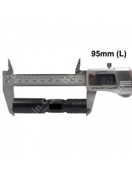 UF C3 IR850nm 1-Mode IR Flashlight - Black (1 x 14500 / 1 x AA)