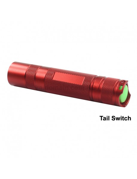 KDIY K12 Cree XP-E2 Red 620nm 600 Luemens Red LED Flashlight - Red ( 1x18650 )