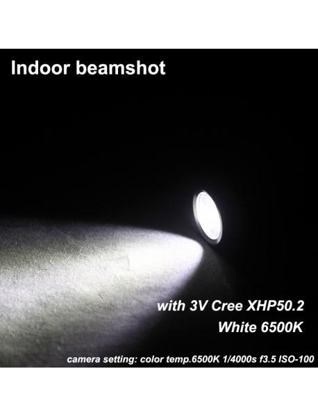 KDIY K13 3V Cree XHP50.2 2000 Luemens 6-Mode LED Flashlight ( 1x21700 )
