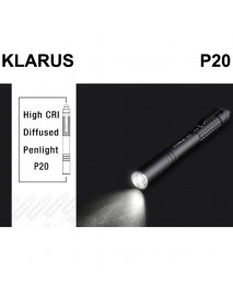 KLARUS P20 Nichia 219C CRI LED 230 Lumens 3-Mode LED Flashlight ( 2 x AAA )