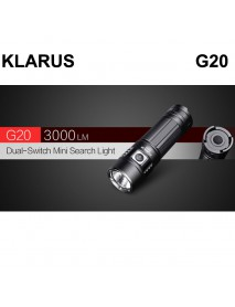KLARUS G20 CREE XHP70.2 P2 3000 Lumens 6-Modes LED Flashlight ( 1 x 26650 )