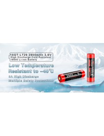 KLARUS 18GT-LT29 18650 3.6V 2900mAh High Discharge Cold Resistant Battery