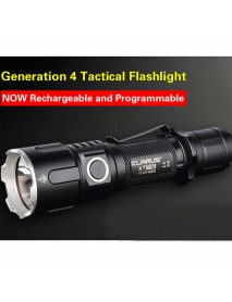 KLARUS XT11S Cree XP-L HI V3 1100 Lumens SMO LED Flashlight (1 x 18650 / 2 x CR123)