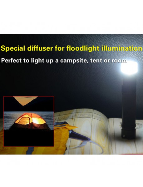 KLARUS FL1A Cree XP-G2 1A 65 Lumens Multi-color Sidelight LED Flashlight (1 x  AA)