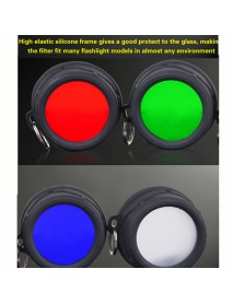 KLARUS FT11 High Elastic Silicone Filter Fits Many Flashlight Models