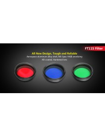 KLARUS FT11S High Elastic Silicone Filter Fits Many Flashlight Models