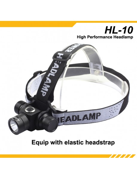 KDLITKER HL-10 Cree XM-L2 3V - 6V 2-Configurable Mode and Hidden Strobe LED Headlamp ( 1x18650/2xCR123 )