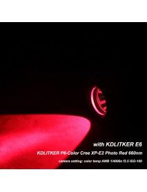 KDLITKER P6-COLOR Cree XP-E2 Photo Red 660nm 280 Lumens P60 Drop-in Module