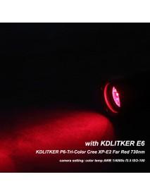 KDLITKER Triple Cree XP-E2 Far Red 730nm 800 Lumens Hunting LED Drop-in Module (Dia. 26.5mm)