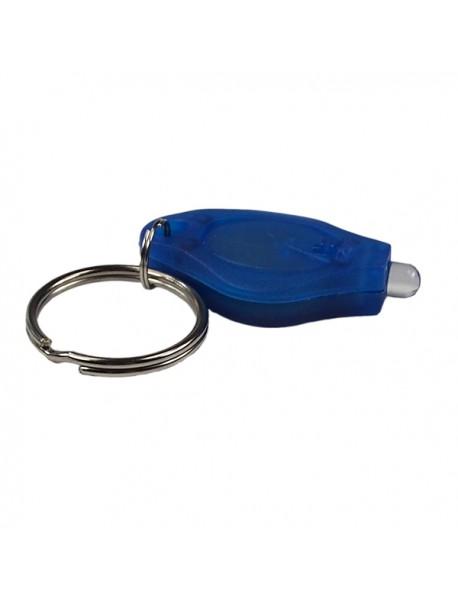 5mm 22000mcd White Light LED Keychain (1 pcs)