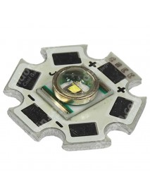 Cree XR-E P4 Led Emitter with 20mm x 1.6mm Aluminum Base