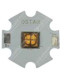 5W 7V 1.5A 450 Lumens OSTAR Cold White LED Emitter with 20mm x 1.6mm Aluminum Base
