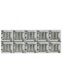 6.8mm(L) x 6.8mm(W) x 1.2mm(T) Aluminum Base Plate for Cree XP-G (10 pcs)