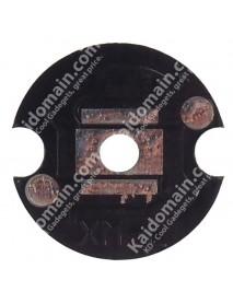 14mm Aluminum Base Plate for Cree XM-L (10 pcs)