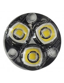 Triple Cree XP-L HI V2 Neutral White 4500K LED Emitters with 20mmx1mm Aluminum Base w/optics (Series)