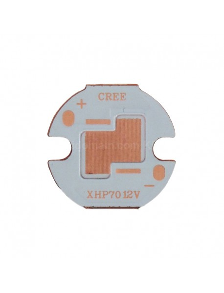 16mm (Dia.) x 1.5mm(T) DTP Copper MCPCB for CREE XHP70 12V ( 2 pcs )