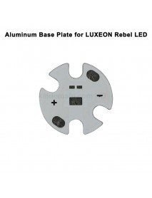 16mm x 1mm Aluminum Base Plate for LUXEON Rebel LED (5 pcs)