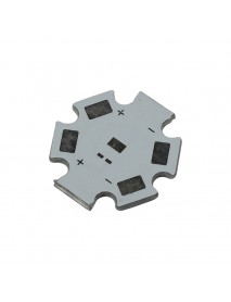 20mm x 1.5mm Aluminum Base Plate for LUXEON Rebel LED (5 pcs)