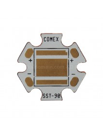 20mm (Dia.) x 1.5mm(T) DTP Copper MCPCB for Luminus SST-90 ( 2pcs )