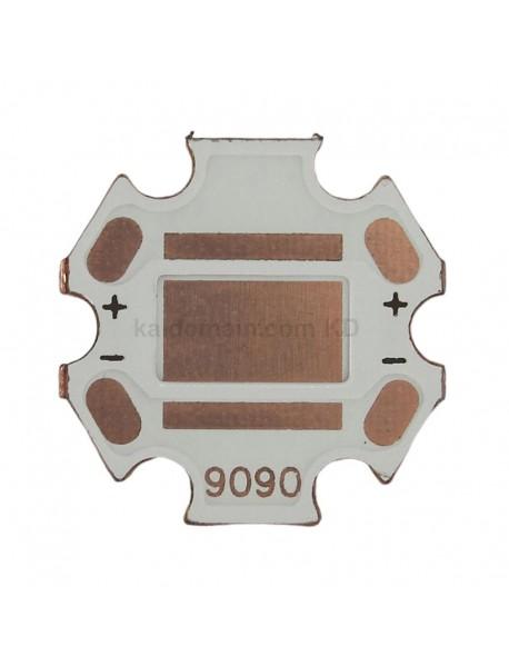 20mm (Dia.) x 1.5mm(T) DTP Copper MCPCB for Luminus SST-90 ( 2pcs )