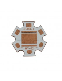 20mm (Dia.) x 1.5mm(T) DTP Copper MCPCB for Cree MT-G2 ( 2pcs )