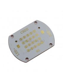 56mm (L) x 40mm (W) Copper PCB for 20 x 3535 LEDs - 2S2P (1 pc)