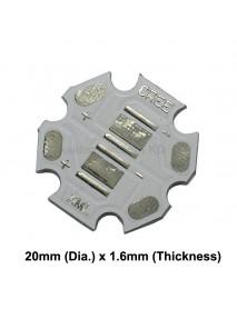 20mm (D) 2 x 5050 LED Individual Output Aluminum LED PCB ( 2pcs )