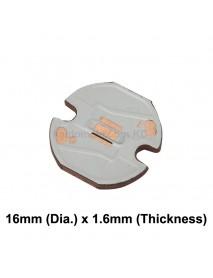 14mm (D) Osram 3030 LED Copper PCB (2 pcs)