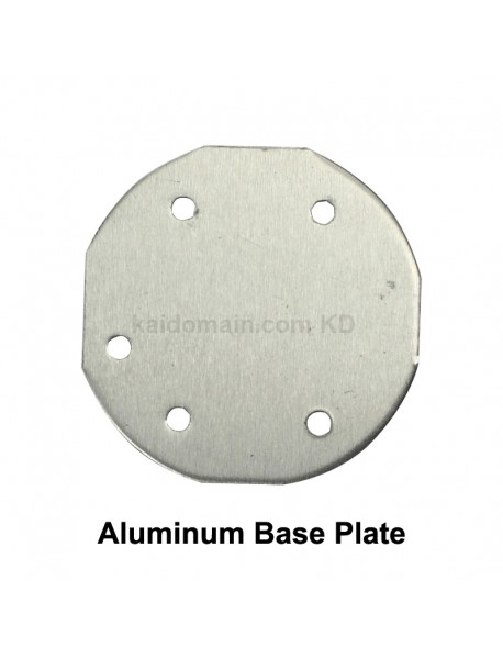 30mm (D) x 1.6mm (T) Aluminum Base Plate for 4 x 5050 LEDs (Negative Shared) (1 pc)