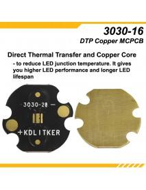 KDLITKER 3030-20 DTP Copper MCPCB for Osram / 3030 LEDs ( 2 pcs )