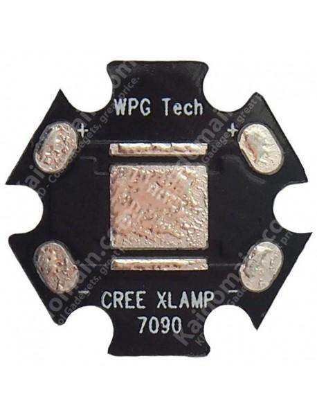 20mm(D) x 1.5mm(T) Aluminum Base Plate for SST50 (5 pcs) - Black