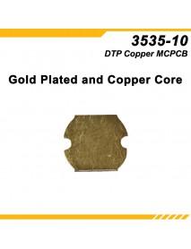 KDLITKER 3535-10 DTP Copper MCPCB for Cree XP Series / Nichia 219 Series / 3535 LEDs ( 2 pcs )