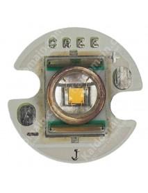 CREE P4 Warm White Led Emitter with 16mm x 1mm Aluminium Base