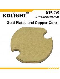 KDLITKER 3535-16 DTP Copper MCPCB for Cree XP Series / Nichia 219 Series / 3535 LEDs ( 2 pcs )