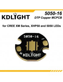 KDLITKER 5050-16 DTP Copper MCPCB for Cree XM Series / XHP50 / 5050 LEDs ( 2 pcs )