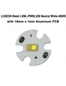 LUXEON Rebel LXML-PWN2-200 Neutral White 4000K LED Emitter(1pc)