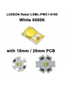 LUXEON Rebel LXML-PWC1-0100 White 6500K LED Emitter (1pc)