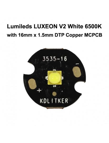 Lumileds LUXEON V2 W(310 Lumens) Y(3V) White 6500K LED Emitter