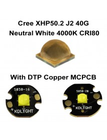 Cree XHP50.2 J2 40G Neutral White 4000K CRI80 LED Emitter (1 pc)